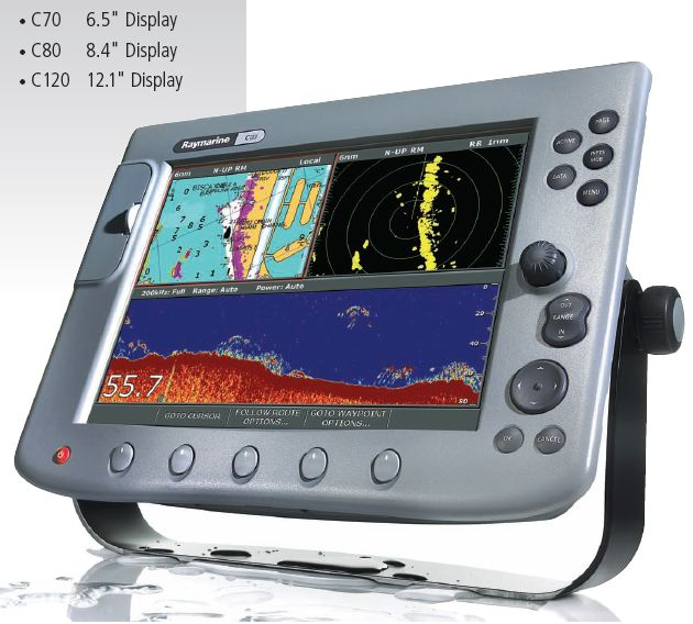 Raymarine Digital FishFinder